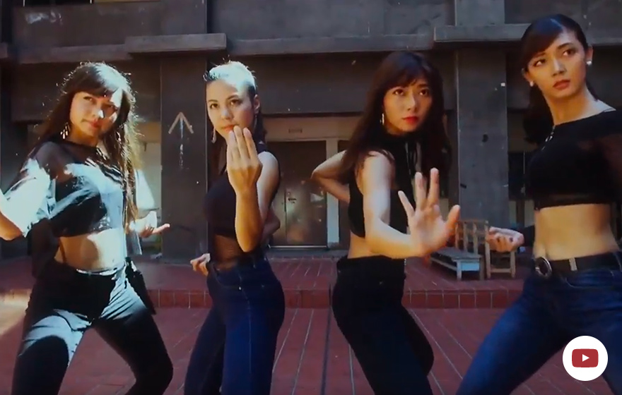 Viviange『It's 天晴』ミュージックビデオ